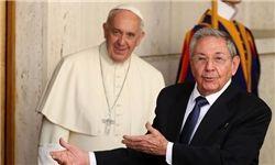 «پاپ» بین کوبا و آمریکا میانجیگری میکند
