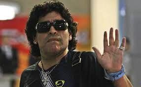 اوج نفرت مارادونا از داماد سابقش!+عکس