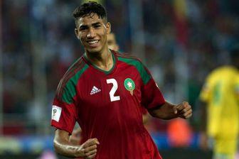 خبری خوش برای کی روش/ مصدومیت ستاره تیم ملی مراکش