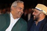 «رضا عطاران» و کلاه همیشگی اش/ عکس