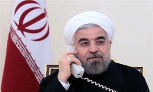 تبریک تلفنی روحانی به رهبر معظم انقلاب