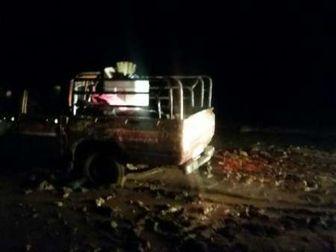 نجات خانواده 6 نفره سراوانی گرفتار درسیلاب