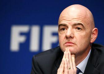 شوخی رئیس فیفا با تیم ملی فوتبال روسیه