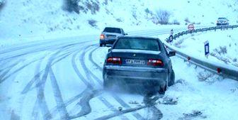 وقوع برف و کولاک در ۱۵ استان