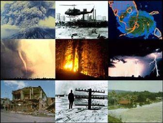 وقوع همزمان زلزله، سیل، طوفان و آتش سوزی در خراسان شمالی