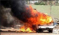 انفجار خودرو در ریف ادلب