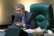 آغاز نشست غیرعلنی مجلس به ریاست لاریجانی