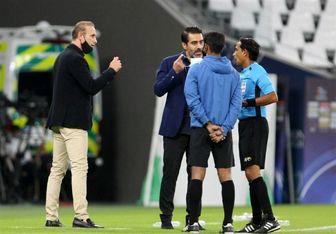 واکنش افشین پیروانی به صعود پرسپولیس به نیمه نهایی لیگ قهرمانان 2020 آسیا
