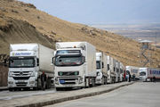 آیا تردد کامیون های ایرانی در مرز ترکیه عادی است؟