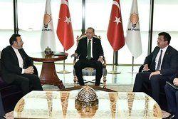 «واعظی» با رئیس جمهور ترکیه دیدار و گفتگو کرد