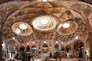 نمایی زیبا از بازار فرش تبریز