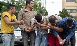 زورگیران حرفه ای دستگیر شدند