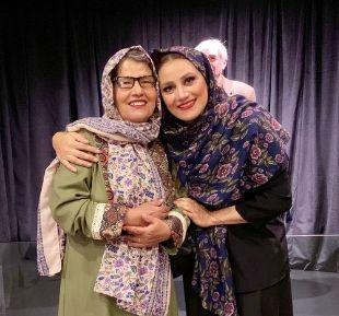 شباهت جالب «شبنم مقدمی» و مادرش/ عکس