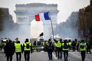 ظهور معترضین جلیقه آبی در فرانسه