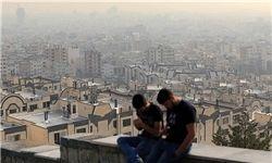 هوای تهران برای بیماران ناسالم است