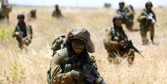 رزمایش ارتش رژیم صهیونیستی در مرز با غزه