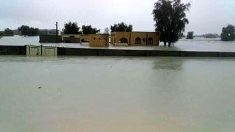 ترمیم سیل بندهای شهرستان قلعه گنج