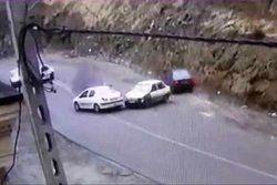 تکرار تصادفات عجیب در جاده چالوس