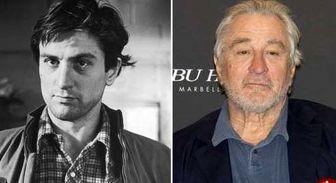 تغییر چهره بازیگران مشهور طی سالها/تصاویر