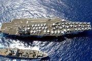ناو هستهای آمریکا در راه شبه جزیره کره