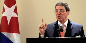 وزیر خارجه کوبا ترور شهید فخری زاده را محکوم کرد
