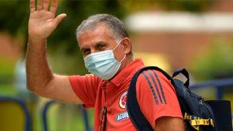عامل جدایی کیروش از تیم ملی فوتبال کلمبیا