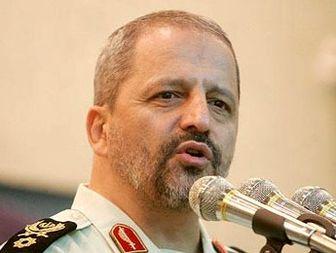 تاکید فرمانده نیروی انتظامی بر افزایش ظرفیت های علمی در ناجا