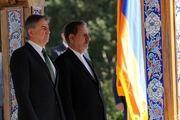 استقبال رسمی جهانگیری از نخستوزیر ارمنستان