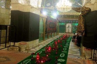 ضریح حضرت رقیه (س) به تهران منتقل شد
