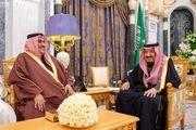 رایزنی وزیر خارجه بحرین با ملک سلمان در ریاض