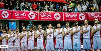 تیمهای همگروه ایران در بسکتبال کاپ آسیا مشخص شدند+ عکس