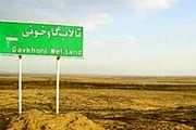 اهمیت احیای تالاب گاوخونی کمتر از دریاچه ارومیه نیست
