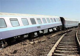 خروج قطار مسافربری تهران - اهواز از ریل