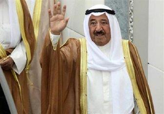 امیر کویت عازم آمریکا شد