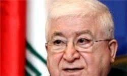 پاسخ فواد معصوم به اتهام اعراب به عراق