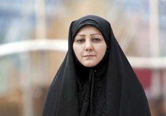 دلداری رهبر انقلاب به مجری محجبه تلویزیون