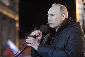 """اظهارات """"پوتین"""" درباره حضور گسترده مردم کشورش در انتخابات"""