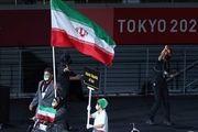 رژه کاروان پارالمپیک کشورمان در المپیک توکیو+ فیلم