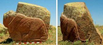 کشف مجسمهی شیر ۳۴۰۰ ساله در ترکیه