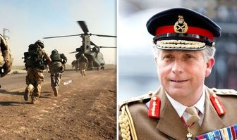 ادعای ژنرال انگلیسی علیه ایران، روسیه و چین