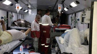 امداد رسانی به 327 نفر در سه روز گذشته