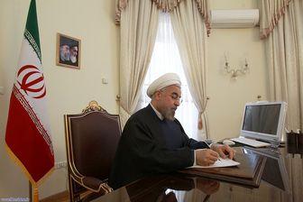 پیام روحانی به وزیر دفاع