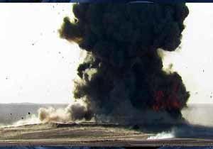 وقوع دو انفجار شدید در غزه