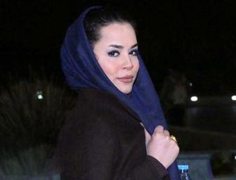 تیپ «ملیکا شریفینیا» در یک جشن سینمایی/ عکس