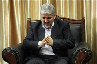اشک شوق خالد مشعل در بازگشت به غزه