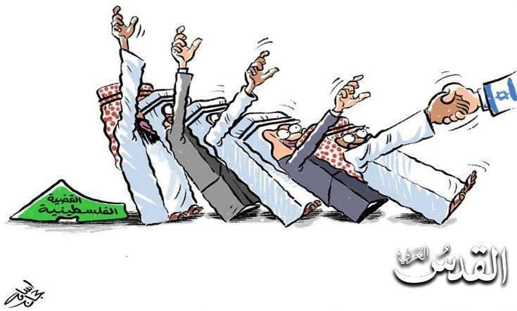 کاریکاتور/ دومینوی دوستی کشورهای عربی با رژیم صهیونیستی