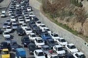 خروجی شرقی تهران قفل شد