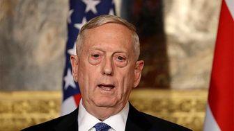 متیس، اظهارات ترامپ درباره احتمال خروج از وزارت دفاع آمریکا را رد کرد