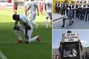 فوتبال علیه نژادپرستی +عکس