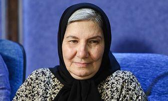 گریم سنگین یک بازیگر در سریال نون خ+عکس